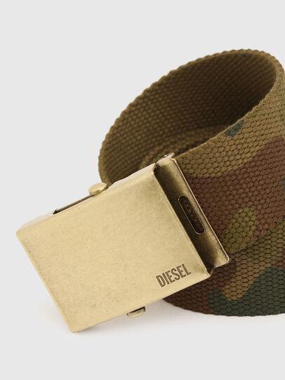 Diesel - B-COMBA, Verde Camuflaje - Cinturones - Image 2