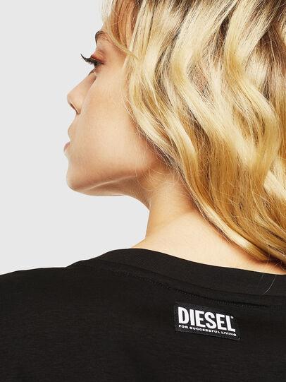 Diesel - T-DARIA-Y, Negro - Camisetas - Image 5