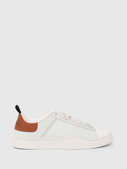 Diesel - S-CLEVER LOW LACE, Blanco/Marrón - Sneakers - Image 1