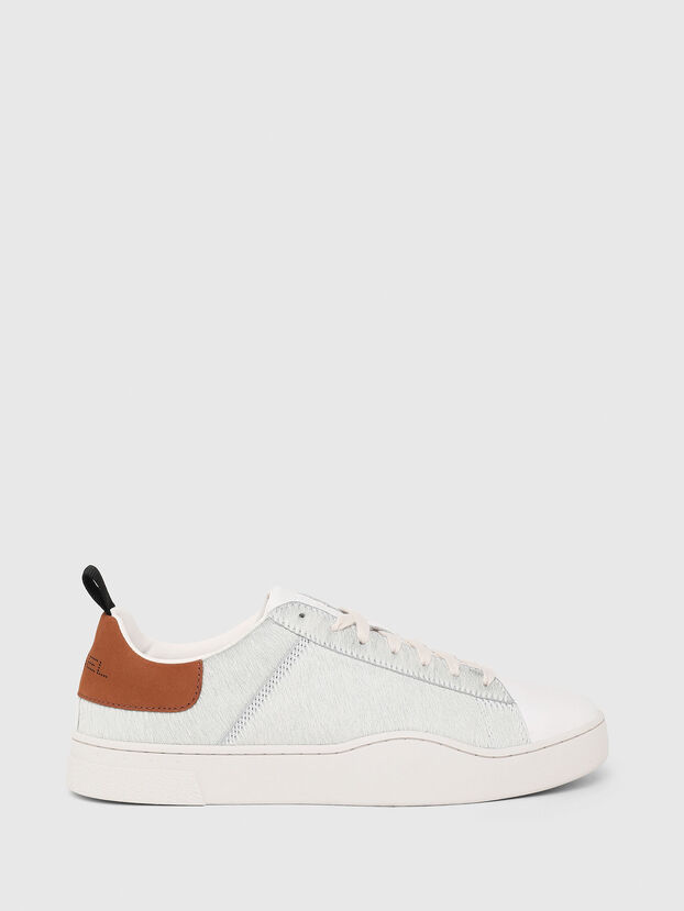 S-CLEVER LOW LACE, Blanco/Marrón - Sneakers