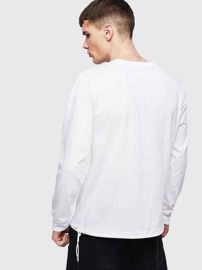 Diesel - T-HUSTY-LS, Blanco - Camisetas - Image 3