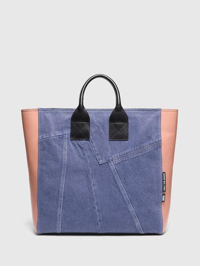 Diesel - LEENA L, Azul marino/Rosa - Bolsos Shopper y Al Hombro - Image 1