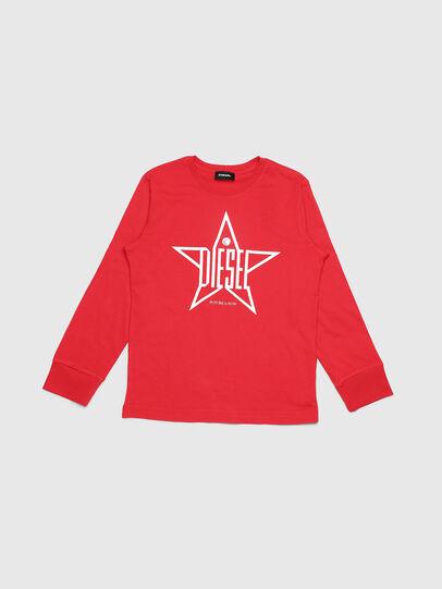 Diesel - TDIEGOYH-ML, Rojo - Camisetas y Tops - Image 1