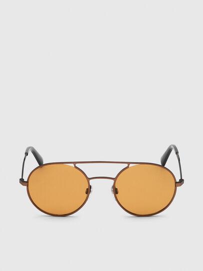 Diesel - DL0301, Naranja/Negro - Gafas de sol - Image 1