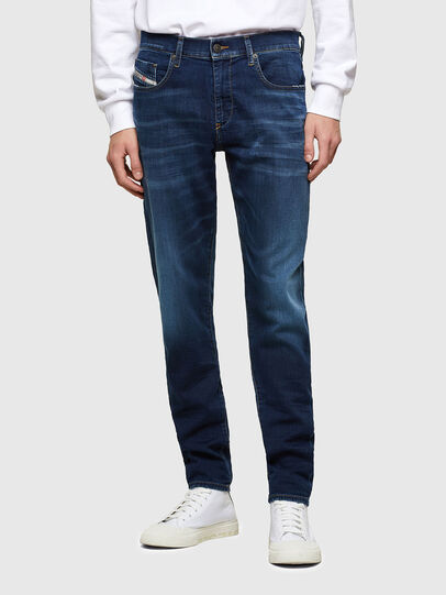 Diesel - D-Strukt JoggJeans® 069RX, Azul Oscuro - Vaqueros - Image 1