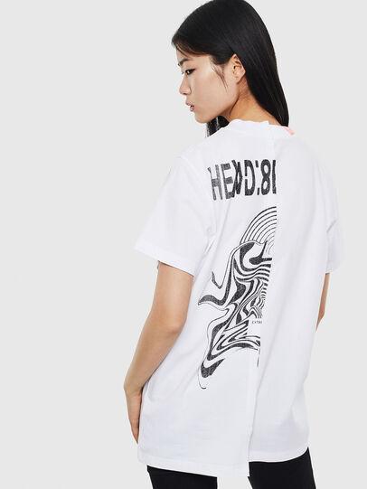 Diesel - T-GOMEZ, Blanco - Camisetas - Image 2