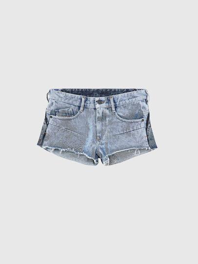 Diesel - DE-RIMY, Azul Claro - Shorts - Image 1