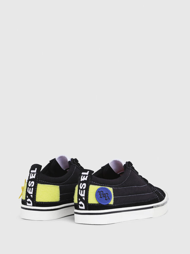 Diesel - D-VELOWS LOW PATCH W, Negro - Sneakers - Image 3
