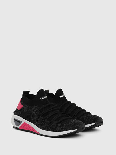Diesel - S-KB ATHL LACE W, Negro/Rosa - Sneakers - Image 2