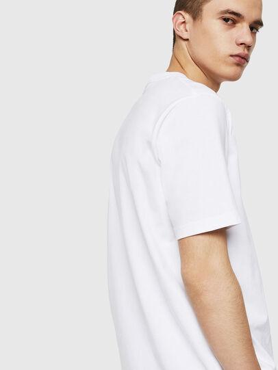 Diesel - T-JUST-POCKET-COPY, Blanco - Camisetas - Image 2