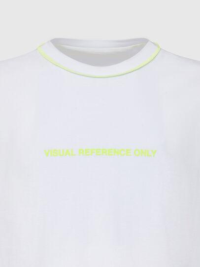 Diesel - T-JUSEAM, Blanco - Camisetas - Image 3