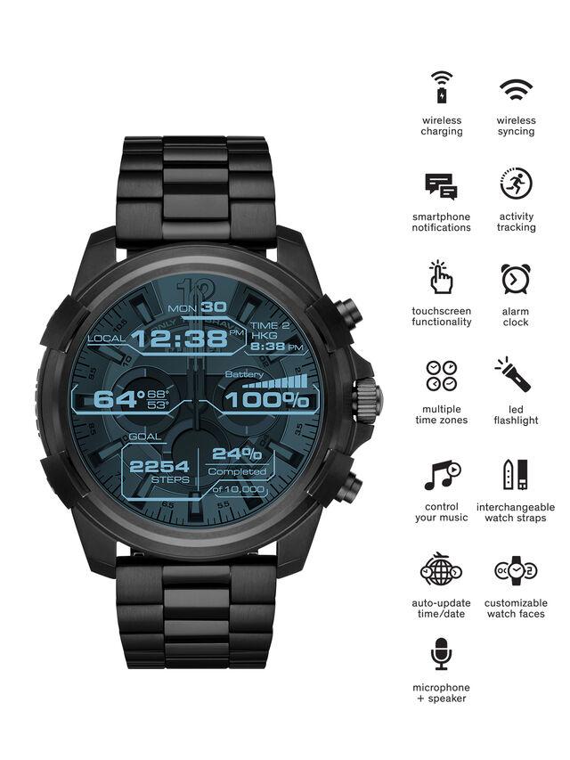 Diesel - DT2007, Negro - Smartwatches - Image 1