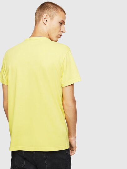 Diesel - T-DIEGO-B14, Amarillo - Camisetas - Image 2