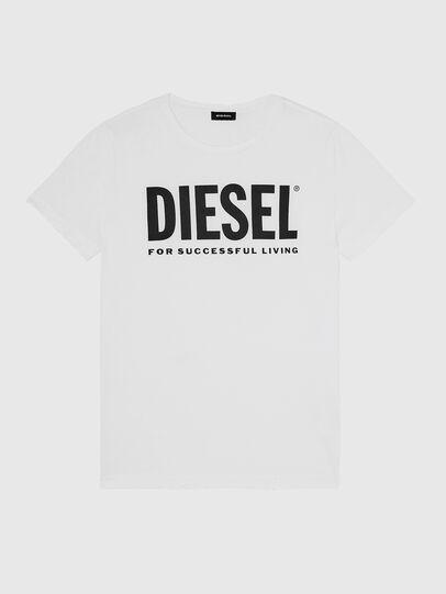 Diesel - T-DIEGO-LOGO, Blanco - Camisetas - Image 1