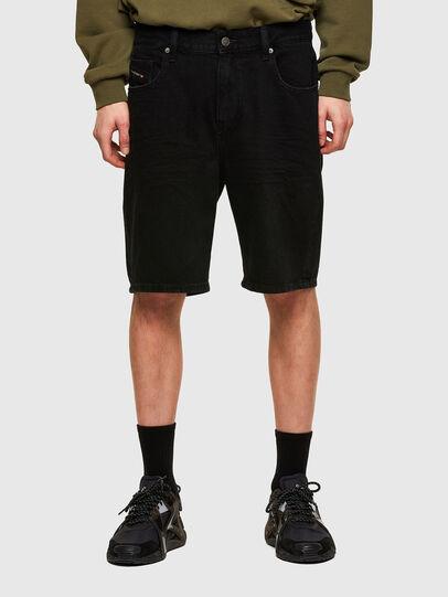 Diesel - D-STRUKT-SHORT, Negro - Shorts - Image 1