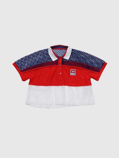 Diesel - TVAITEA, Rojo/Blanco - Camisetas y Tops - Image 1