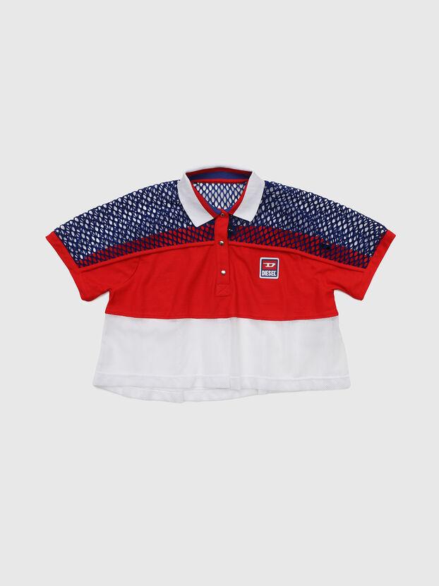 TVAITEA, Rojo/Blanco - Camisetas y Tops