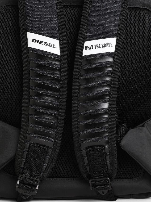 Diesel - D-SUBTORYAL BACK, Blue Jeans - Mochilas - Image 6