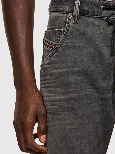 Diesel - Krooley JoggJeans® 069SY, Negro/Gris oscuro - Vaqueros - Image 3