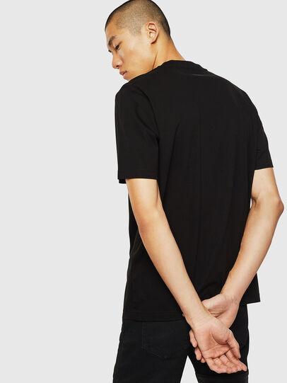 Diesel - T-JUST-J10, Negro - Camisetas - Image 2