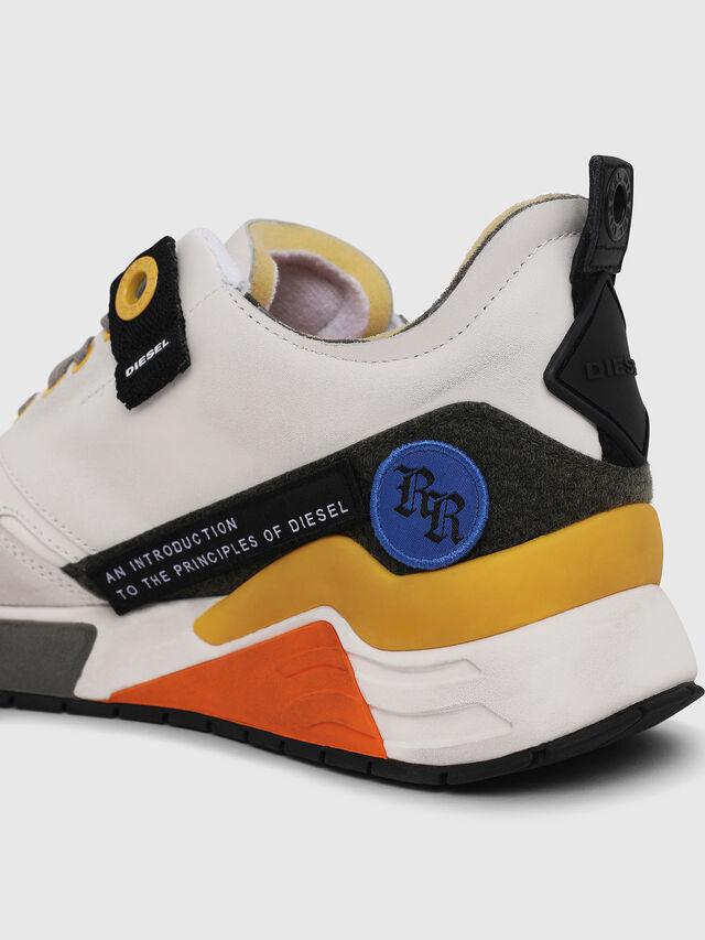 Diesel - S-BRENTHA LC VELCRO, Blanco - Sneakers - Image 4