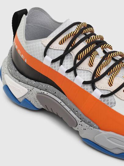 Diesel - S-KIPPER BAND, Blanco/Naranja - Sneakers - Image 5