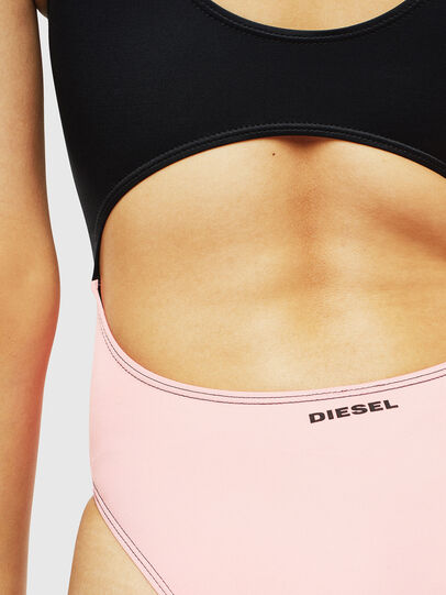 Diesel - BFSW-COURTNEY, Negro/Rosa - Bañadores - Image 5