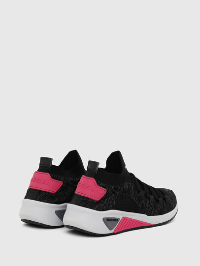 Diesel - S-KB ATHL LACE W, Negro/Rosa - Sneakers - Image 3