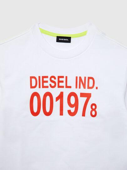 Diesel - SGIRKJ3 OVER, Blanco - Sudaderas - Image 2