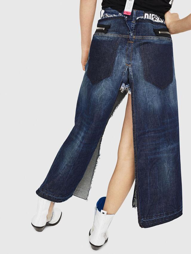 Diesel - DE-EVERY, Azul medio - Shorts - Image 2