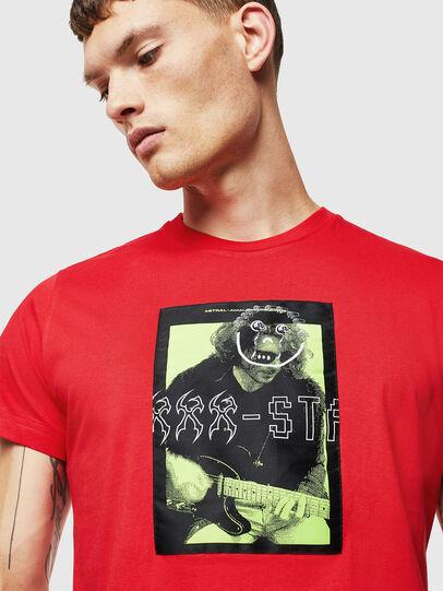 Diesel - T-DIEGO-J1, Rojo - Camisetas - Image 3