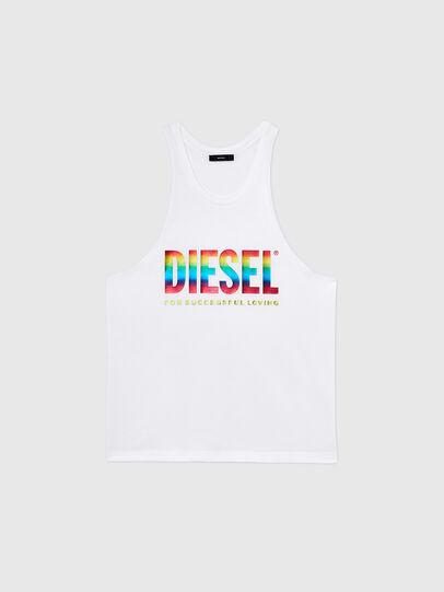Diesel - BMOWT-LOCOARM-P, Blanco - Tops - Image 1