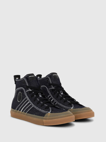 Diesel - S-ASTICO MID LACE, Azul Oscuro - Sneakers - Image 2