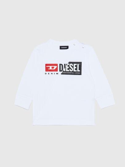 Diesel - TDIEGOCUTYB ML, Blanco - Camisetas y Tops - Image 1
