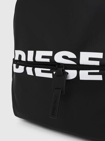 Diesel - F-BOLD BACK FL, Negro Brillante - Mochilas - Image 4