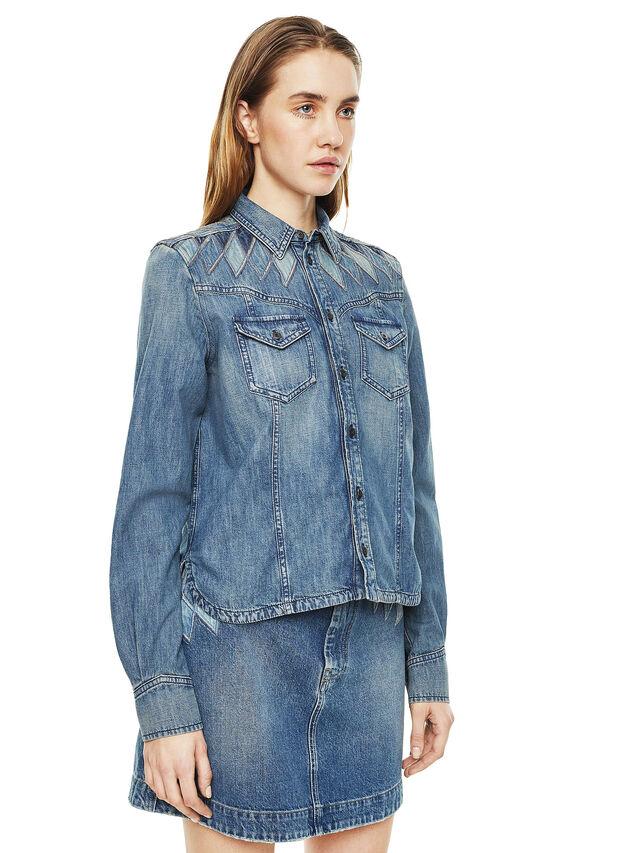 Diesel - CALLYVAN, Blue Jeans - Camisas - Image 5