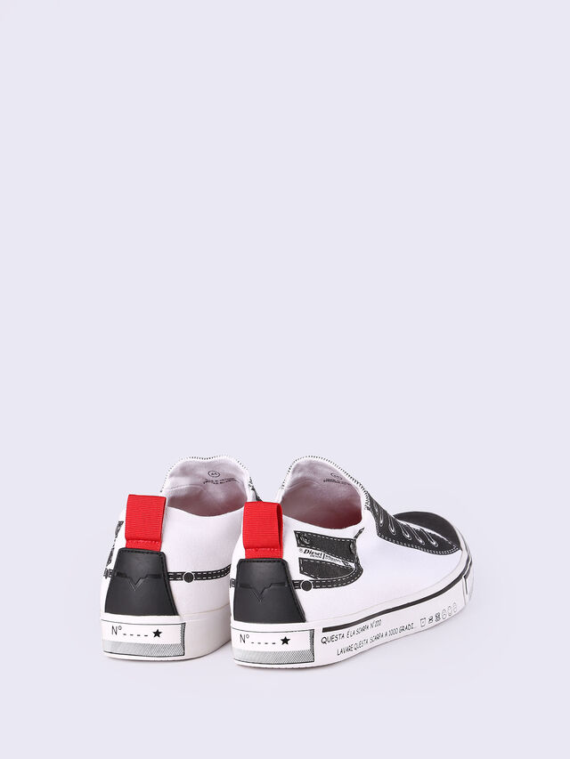 S-DIESEL IMAGINEE LOW SLIP-ON, Blanco