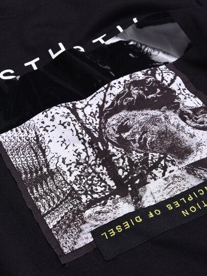 Diesel - TSILYWB, Negro - Camisetas y Tops - Image 3