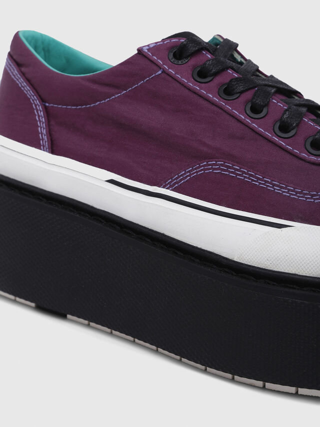 Diesel - H-SCIROCCO LOW, Violeta Oscuro - Sneakers - Image 6