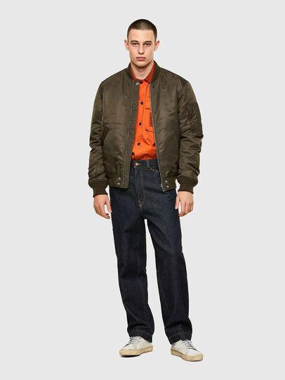 Diesel - S-GUNN, Naranja - Camisas - Image 4