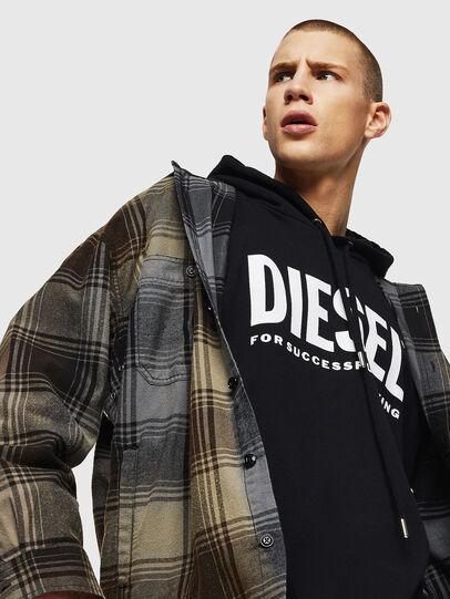Diesel - S-MINER, Marrón - Camisas - Image 3