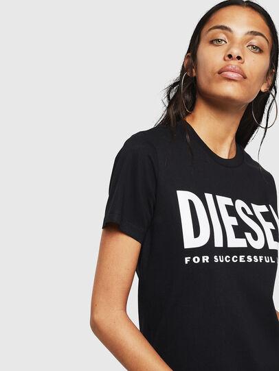 Diesel - T-SILY-WX, Negro - Camisetas - Image 3