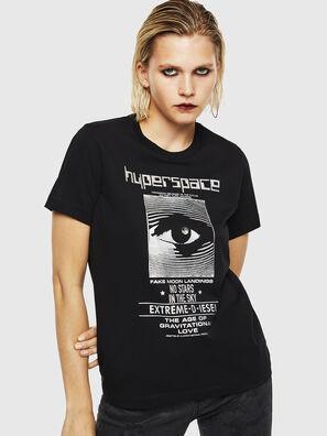 T-SILY-YB, Negro - Camisetas