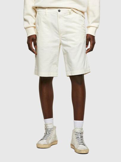 Diesel - P-HATY, Blanco - Shorts - Image 1