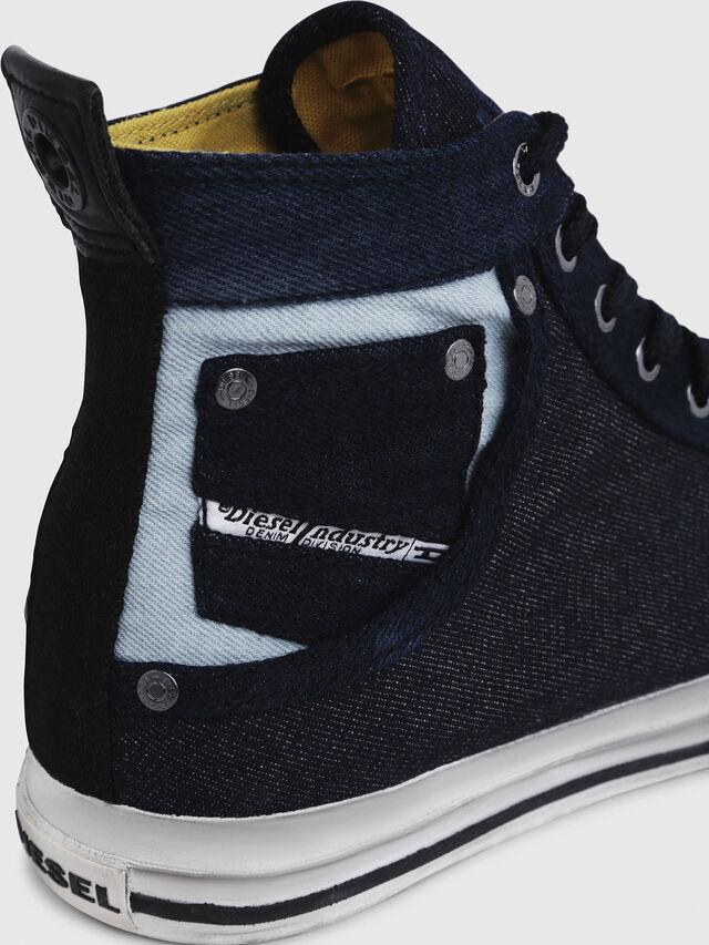 Diesel - EXPOSURE I, Azul Oscuro - Sneakers - Image 5