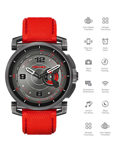 Diesel - DT1005, Rojo - Smartwatches - Image 1