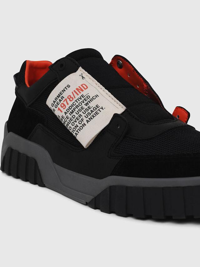Diesel - S-LE RUA ON, Negro - Sneakers - Image 4