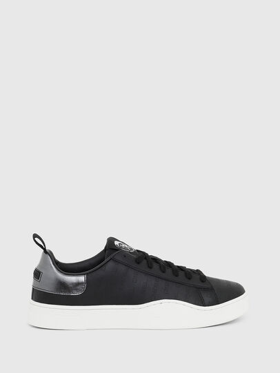 Diesel - S-CLEVER LOW LACE, Negro/Plata - Sneakers - Image 1