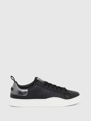 S-CLEVER LOW LACE, Negro/Plata - Sneakers