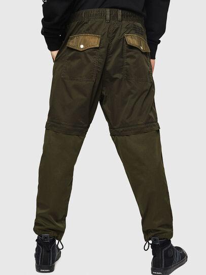 Diesel - P-CASHORT, Verde Militar - Pantalones - Image 2